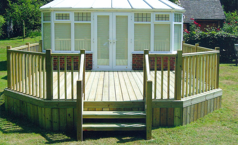 Decking Fareham, Gosport